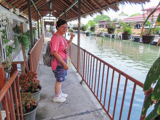 曼谷市  Klong Bang Luang 水上市場