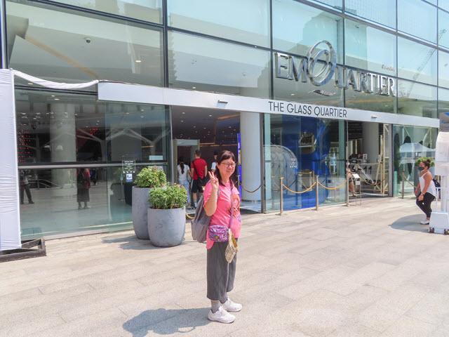 曼谷 EmQuartier 高級大型商場