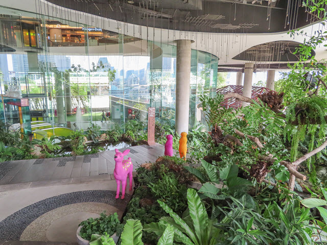曼谷 EmQuartier Water Garden