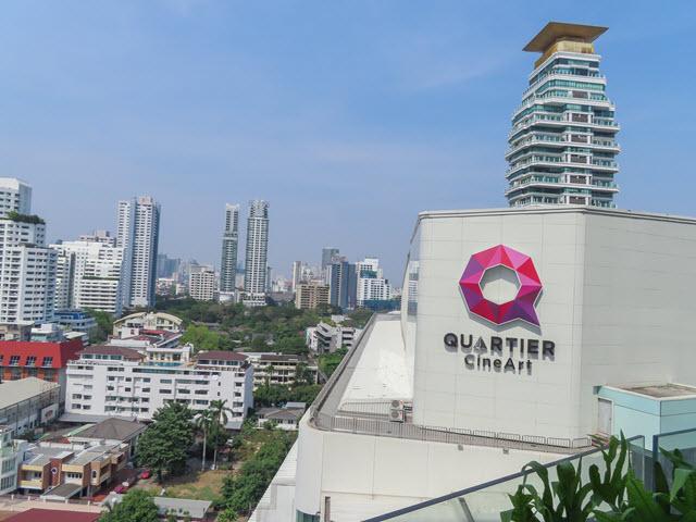 曼谷 EmQuartier 展望台俯瞰