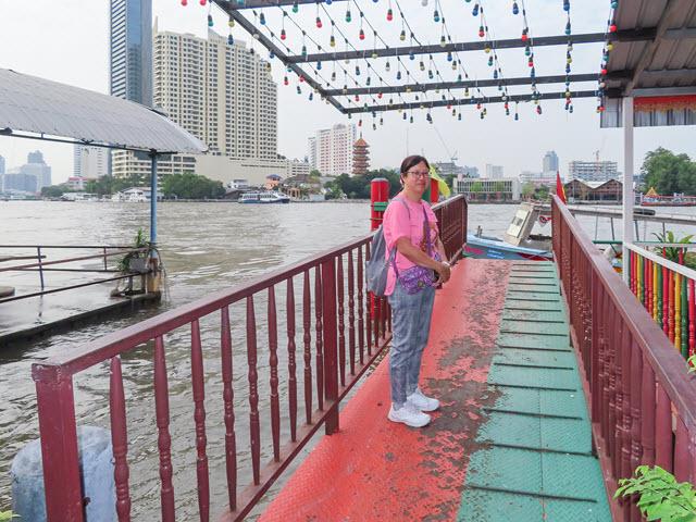 曼谷 昭披耶河 Sawasdee Pier 碼頭