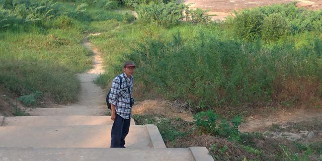Khong Chiam Rim Khong Public Park 湄公河河床 壺穴地形